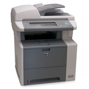 Multifunctionala Laser HP M3027DN, Monocrom, 27 ppm, Scanner, Copiator, Fax, USB defect, Retea, Duplex Imprimante Second Hand