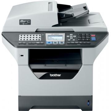 Multifunctionala Laser Monocrom Brother MFC-8880DN, Duplex, A4, 30ppm, 1200 x 1200dpi, Scaner, Copiator, Fax, Retea, USB Imprimante Second Hand