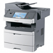 Multifunctionala Laser Monocrom Lexmark x466de, Duplex, A4, 1200 x 1200, Fax, Copiator, Scanner,USB, Retea Imprimante Second Hand