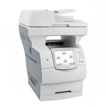 Multifunctionala Laser Monocrom Lexmark X646e, A4, 50ppm, Copiator, Fax, Scanner, USB, Retea Imprimante Second Hand