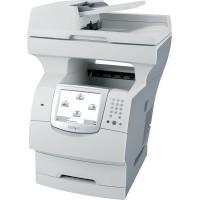 Multifunctionala Second Hand Laser Lexmark X644e, Scanner, Copiator, Fax, Imprimanta, Usb, Retea