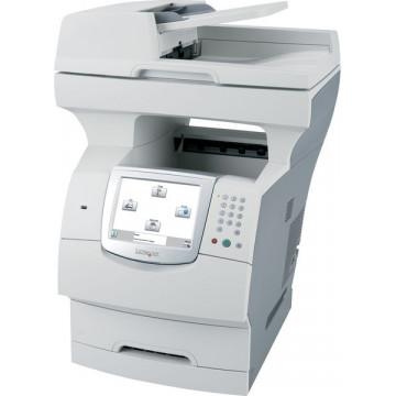 Multifunctionala Second Hand Laser Lexmark X644e, Scanner, Copiator, Fax, Imprimanta, Usb, Retea Imprimante Second Hand