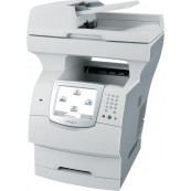 Multifunctionale Second Hand Laser Lexmark X644e, Scanner, Copiator, Fax, Imprimanta, Usb, Retea Imprimante Second Hand