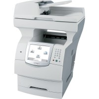 Multifunctionale Second Hand Laser Lexmark X644e, Scanner, Copiator, Fax, Imprimanta, Usb, Retea