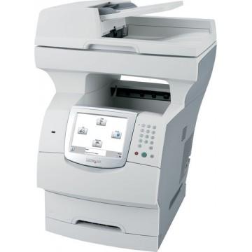 Multifunctionale Second Hand Laser Lexmark X644e, Scanner, Copiator, Fax, Imprimanta, Usb, Retea Imprimante Second Hand
