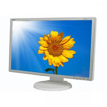 Nec MultiSync E222W, 22 Inch LCD, WideScreen, 1680 x 1050, 5ms, DVI, VGA Monitoare Second Hand