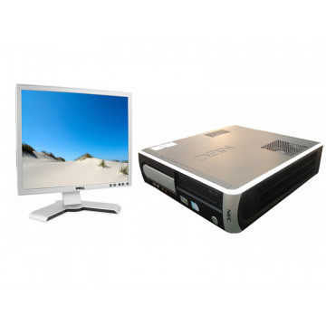 NEC POWERMATE VL350, Celeron 430, 1.8 ghz, 512mb, 80 gb, DVD-ROM + Monitor LCD 17 inci