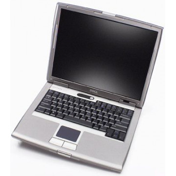 Netbook Dell Latitude D600, Centrino 1,6 GHz, 768Mb, 40Gb, DVD-ROM, 14 inci, WiFi Laptopuri Second Hand