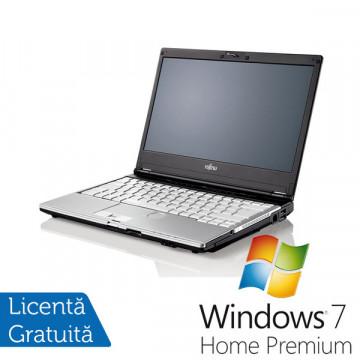 Notebook Fujitsu Siemens Lifebook S760 Intel Core i3-M370 2.4Ghz, 4Gb DDR3, 320Gb SATA, DVD-RW + Win 7 Premium, Garantie 36 Luni Laptopuri Refurbished