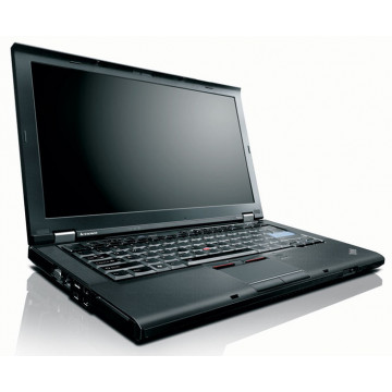 Notebook Lenovo T410, Intel Core i5-560M 2.66Ghz, 4Gb DDR3, 320Gb HDD, DVD-RW, 14 inci, Webcam, Qwerty Laptopuri Second Hand
