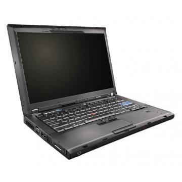 Notebook Lenovo ThinkPad T400, Core 2 Duo P8800, 2.66Ghz 4Gb DDR3, 160Gb, DVD-RW Laptopuri Second Hand
