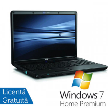 Notebook Refurbished HP Compaq 6830s, Core 2 Duo P8400 2.26Ghz, 4Gb DDR2, 250Gb HDD, DVD-RW, 17 inch + Win 7 Premium, Garantie 36 Luni Laptopuri Refurbished