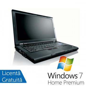 Notebook Refurbished Lenovo T410, Intel Core i5-520M 2.4Ghz, 4Gb DDR3, 320Gb HDD, DVD-RW, 14 inci + Win 7 Premium, Garantie 36 Luni Laptopuri Refurbished