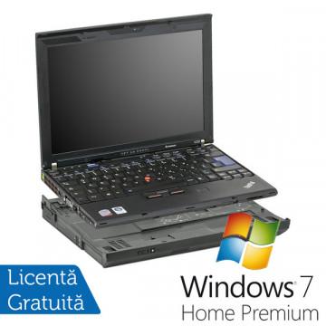Notebook Refurbished Lenovo X200, Intel Core 2 Duo P8400 2.26Ghz, 4Gb DDR3, 160Gb HDD, 12 inch, DVD-RW, Docking + Win 7 Premium Laptopuri Refurbished