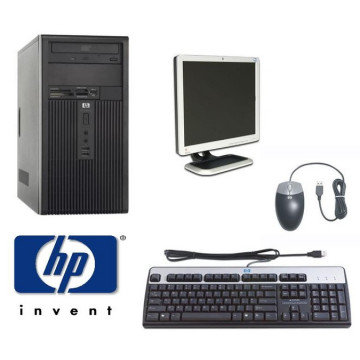 PC HP DX2200, Intel Celeron 2.93Ghz,1GB, 80GB + Monitor HP L1710