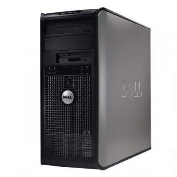 PC Tower Dell Optiplex 755, Core 2 Duo E6850, 3.0Ghz, 2Gb DDR2, 80 Gb HDD, DVD-RW Calculatoare Second Hand