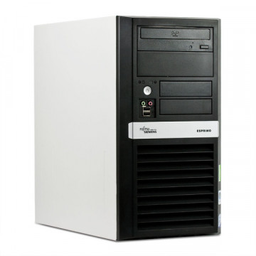PC Tower Fujitsu Esprimo P2501, Pentium 4 HT 520 ,2.8Ghz, 1Gb, 80Gb, DVD-ROM Calculatoare Second Hand