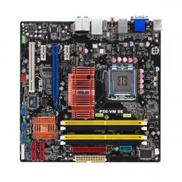 Placa  de baza ASUS P5E-VM SE + Procesor Intel Core 2 Duo E6850, 3.0Ghz + Cooler si radiator
