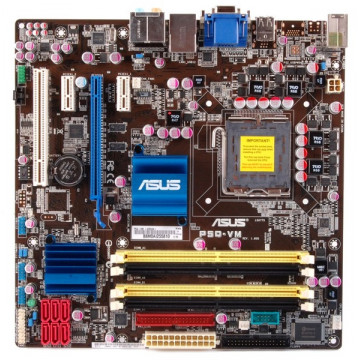Placa de baza ASUS P5Q-VM OO Bulk, PCI express, LGA 775, Video Intel 4500HD
