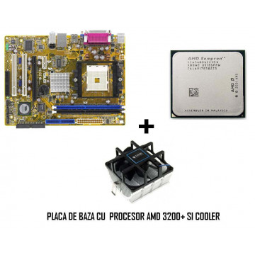 Placa de Baza + CPU AMD 3000+ COOLER