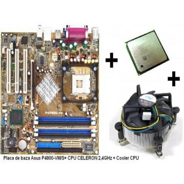 Placa de baza  cu procesor si cooler