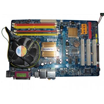 Placa de baza Gigabyte 945PL-S3P, socket 775, PCI Express x16, SATA II, 5.1 Audio + Procesor Intel E5300, 2.6Ghz