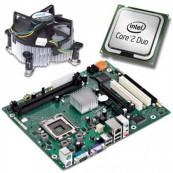 Placa de baza pentru Fujitsu Esprimo P2560 SFF, DDR3, SATA, Socket LGA 775 + Procesor Intel Pentium E6700 3.20GHz + Cooler