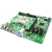 Placa de baza Socket 1155, Dell model 0F6X5P, fara shield pentru DELL OPTIPLEX 390 SFF, second hand