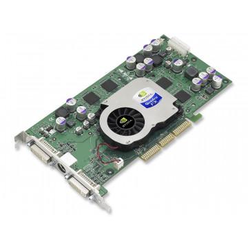 Placa Grafica AGP Nvidia Quadro FX 1000, 128Mb, Dual DVI, 128-bit, port ochelari 3D