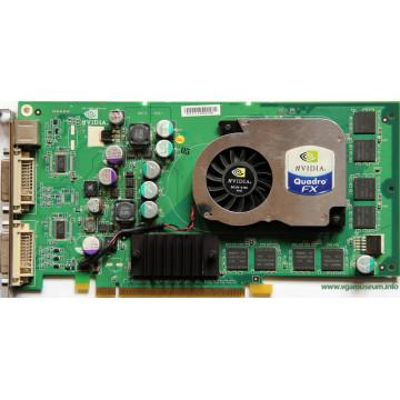 Placa Grafica Nvidia Quadro FX 1300, 128Mb, PCI-Express x16, 256-bit, Dual DVI, 3D Glasses port