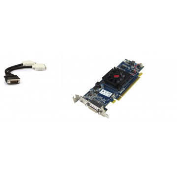 Placa video ATI Radeon HD 5450, 512MB, XF27T DMS-59 Vc + adaptor DMS-59 la 2 x DVI Componente Calculator