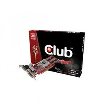 Placa Video Club3D CGAX-X56TVD Radeon X550 256Mb