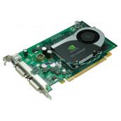 Placa video Nvidia Quadro FX 1700, 512MB DDR2, 128 bit, 2 x DVI, Second Hand Componente Calculator