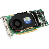 Placa video Nvidia Quadro FX 3450, 256MB DDR3, 128 bit, 2 x DVI, Second Hand Componente Calculator