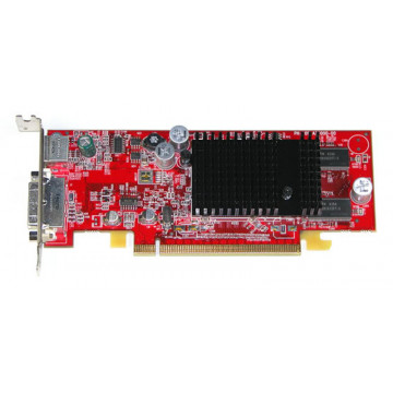 Placa video PCI-E Ati Radeon X300, 64 Mb, DVI, S-out
