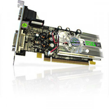 Placa video PCI-E nVidia Geforce 7100 GS, 256Mb, DVI, VGA, S-out, sh