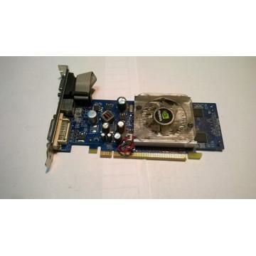 Placa video PCI-E nVidia GeForce 8400 GS, 256 Mb, DVI, VGA, S-video Componente Calculator