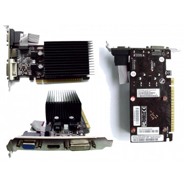Placa Video PCI-e, Palit GeForce 210, 1024Mb DDR3, HDMI, VGA, DVI
