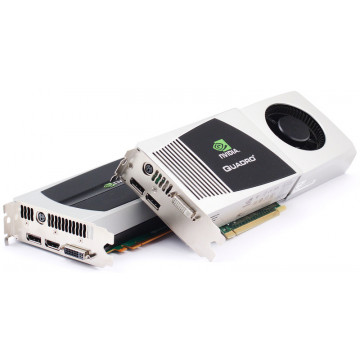 Placa Video pentru Grafica Nvidia Quadro FX4800, 1.5Gb GDDR3, 384 bit, DVI, Display port