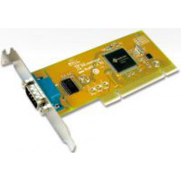 Port serial 9 pini, high profile, conexiune PCI Componente Calculator