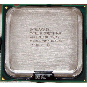 Procesor Intel Core 2 Duo E6600, 2400Mhz, 1066Mhz FSB, LGA775 Socket