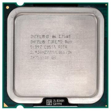 Procesor Intel Core 2 Duo E7500, 3Mb Cache, 1066Mhz FSB, 64-bit, Socket LGA775