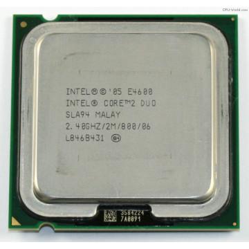 Procesor Intel Core2 Duo E4600, 2.4Ghz, 2Mb Cache, 800 MHz FSB Componente Calculator