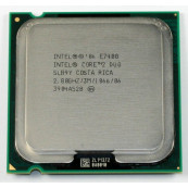 Procesor Intel Core2 Duo E7400, 2.8Ghz, 3Mb Cache, 1066 MHz FSB Componente Calculator