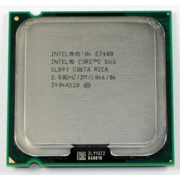 Procesor Intel Core2 Duo E7400, 2.8Ghz, 3Mb Cache, 1066 MHz FSB Componente Calculator