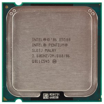 Procesor Intel Pentium Dual Core E5500, 2.80 GHz, 2Mb Cache, 800 MHz FSB Componente Calculator
