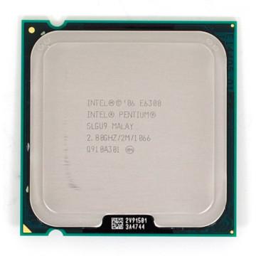 Procesor Intel Pentium Dual Core E6300, 2.8Ghz, 2Mb Cache, 1066 MHz FSB Componente Calculator