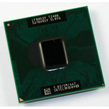 Procesor laptop Intel Core Duo T2400,1.83Ghz, 2Mb Cache, 667MHz FSB Componente Laptop