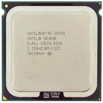 Procesor Server Intel Xeon E5345 Quad Core, 2330Mhz, 8Mb Cache, 1333mhz FSB, LGA771, PLGA771