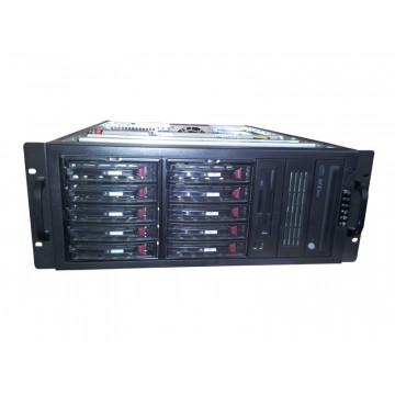 Server 2x Intel Xeon Dual Core 3400Mhz, 5x 320 SATA, 5 x 300 SATA, 8Gb, RAID Servere second hand